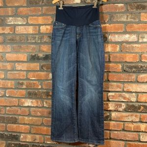 A Pea in the Pod 7FAM Bootcut Maternity Jeans